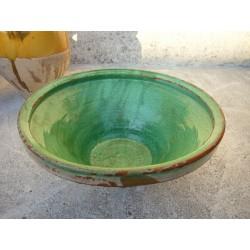 gresale verte en terre vernissee n815