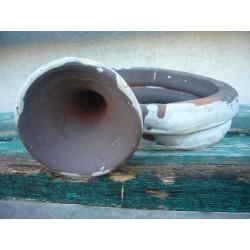 trompette en terre cuite martincamps
