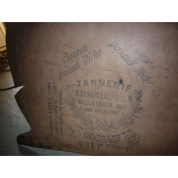 plaque de cuir de tannerie belgentier