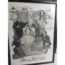 affiche de theatre ancienne