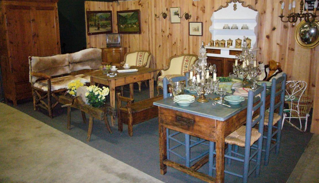 antiques, flea market
